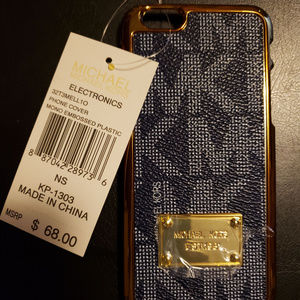 Michael Kors Phone Case iPhone 6 Snap-on NEW